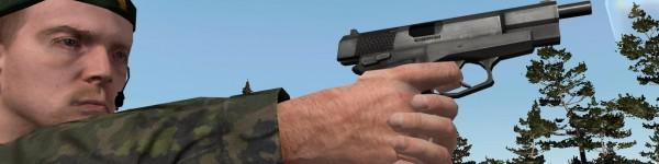 ArmA FDF m/80 Pistol