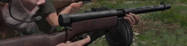 ArmA FDF m/31 Suomi SMG