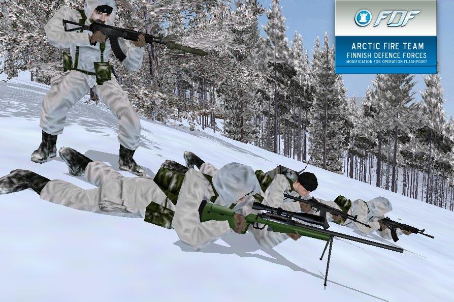 FDF Mod : FDF Arctic Team
