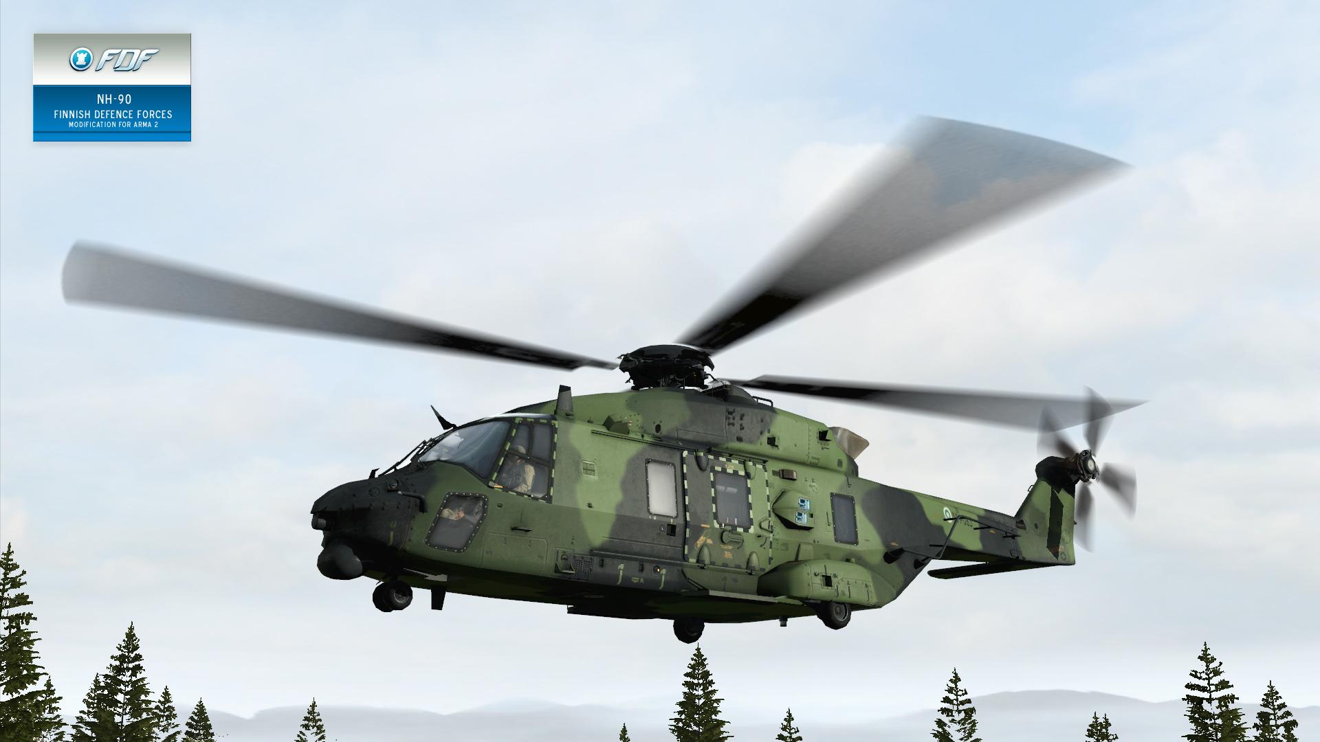 Elicottero Nh90 : Fdf mod nh