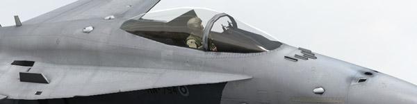FDF Boeing F-18C Hornet