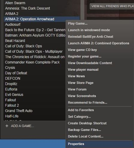 FDF Mod : FDFmod 1 0 for Arma 2 – Installation (Steam)